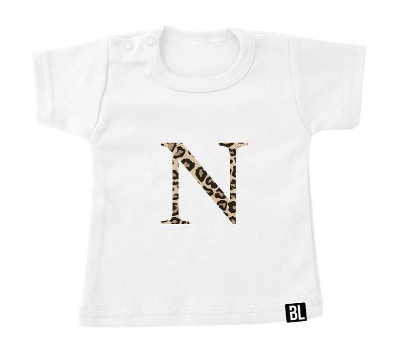 Shirt | Initiaal panter