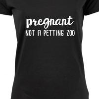 Zwangerschapsshirt | Not a petting zoo