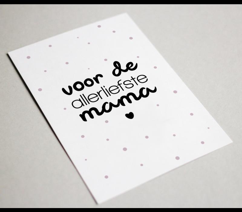 Kaart | Voor de allerliefste mama