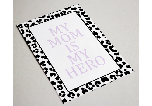 BrandLux Kaart | My mom is my hero