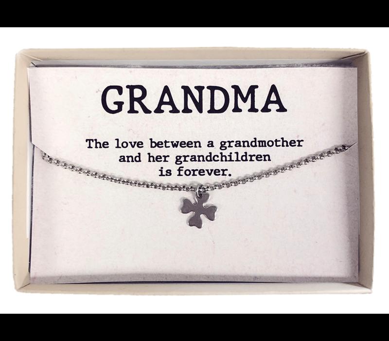 Armband | Gift box grandma klaver