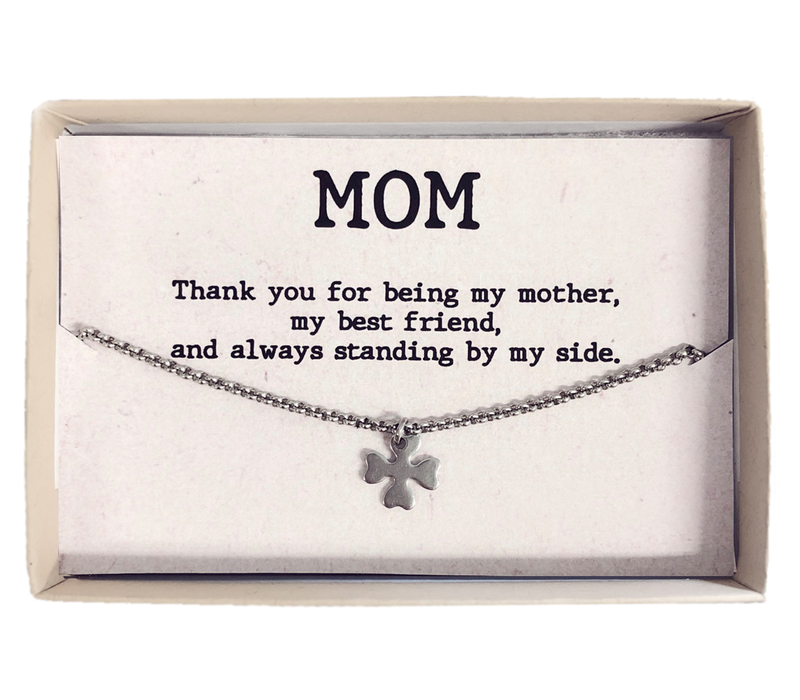 Armband | Gift box mom klaver