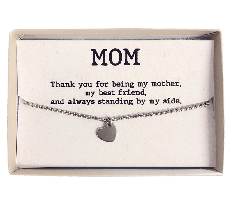 Armband   Gift box mom hart