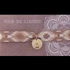 BrandLux Armband | Elastiek goud