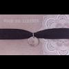 BrandLux Armband | Elastiek zilver