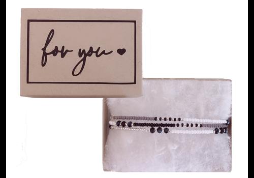 BrandLux Armband | For you.. ibiza black
