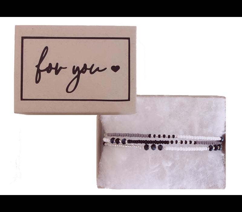 Armband | For you.. ibiza black