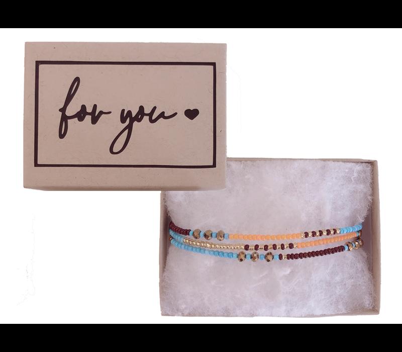 Armband | For you.. ibiza gold