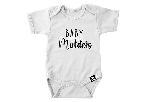 BrandLux Romper | Baby en achternaam