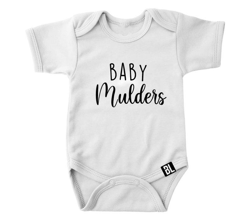 Romper | Baby en achternaam