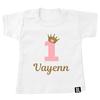 BrandLux Shirt | Verjaardag kroontje goud