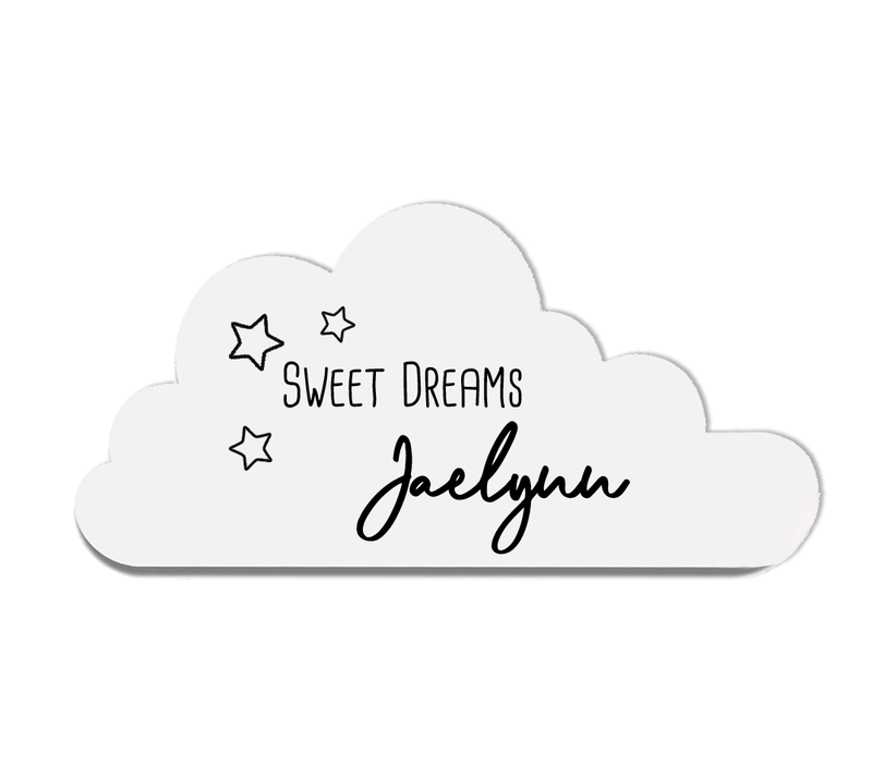 Houten bord | Wolk sweet dreams