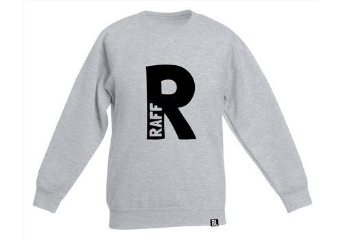 BrandLux Sweater kind | Naam in initiaal