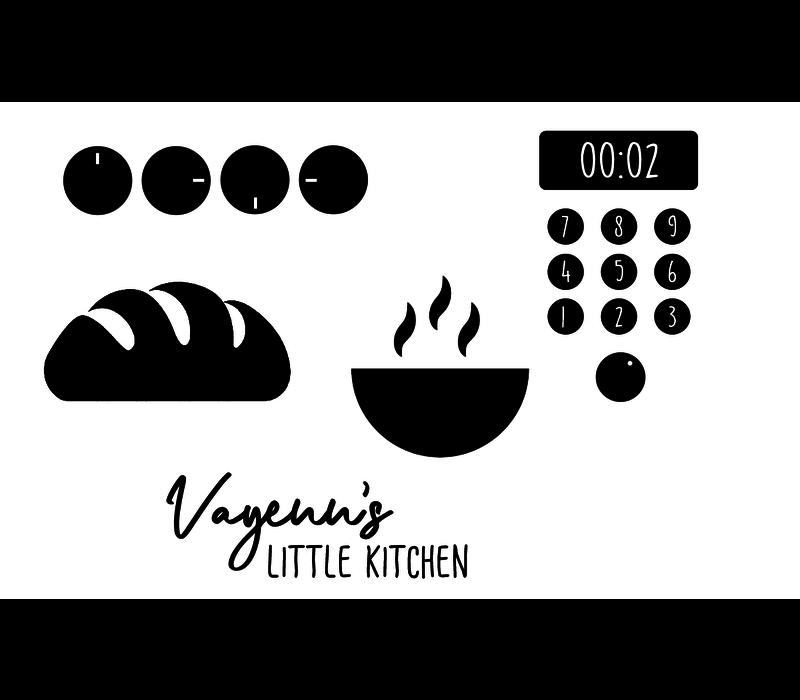 Keukensticker | Keuken set
