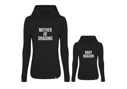 BrandLux Twinning hoodies | Mother of dragons