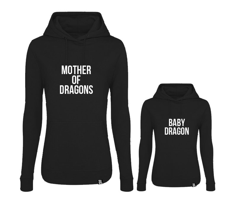 Twinning hoodies | Mother of dragons