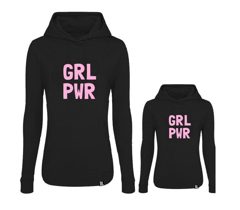 Twinning hoodies | GRL PWR