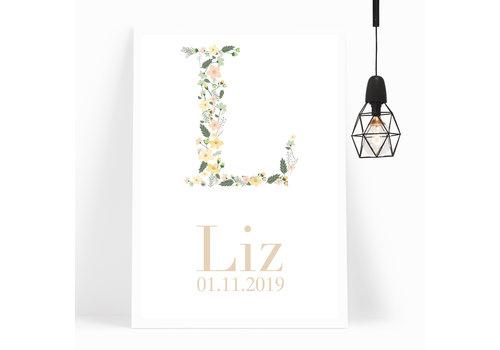 BrandLux Kinderkamer Poster | Floral