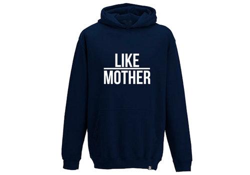 BrandLux Hoodie kind | Like mother  blue