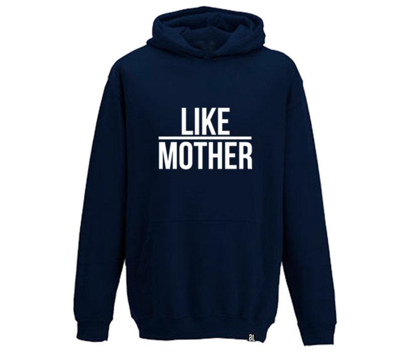 Hoodie kind | Like mother  blue