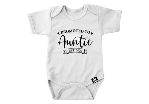 BrandLux Romper | Promoted to auntie