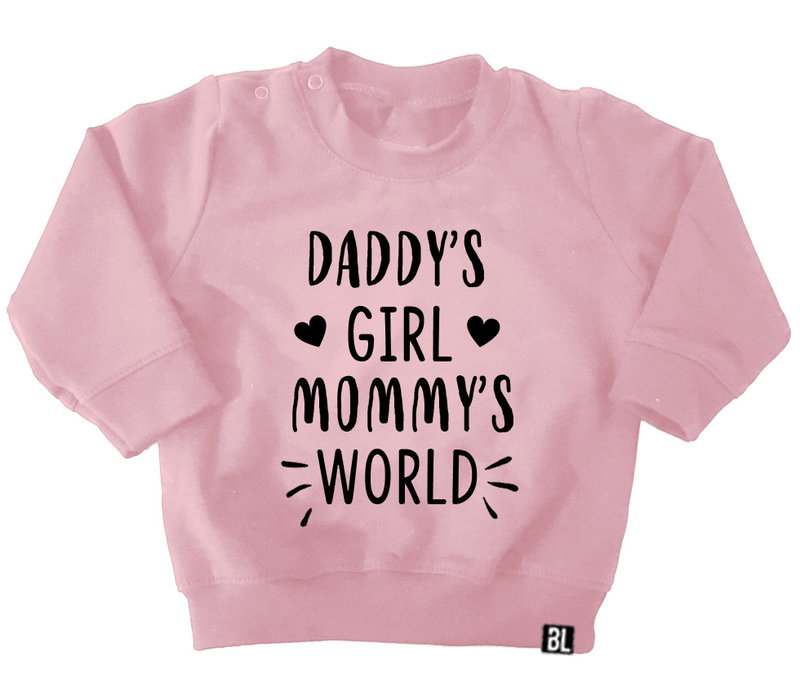 Sweater kind | Daddy's girl, mommy's world