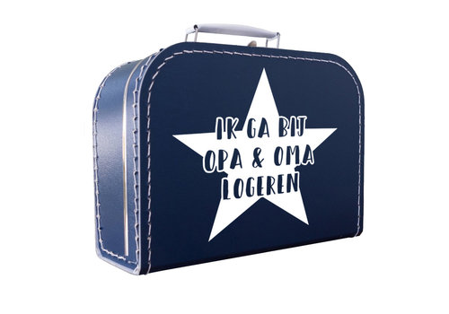 BrandLux Koffertje   Ik ga logeren ster