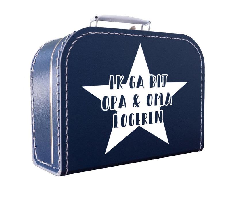 Koffertje | Ik ga logeren ster