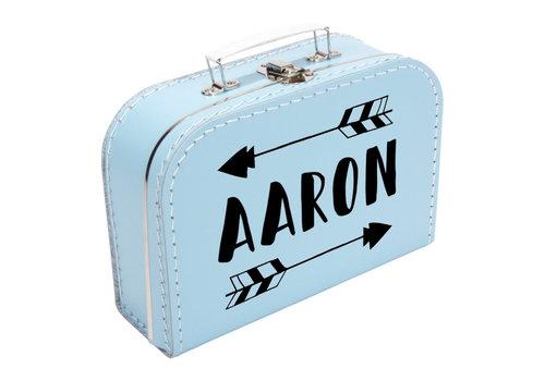 BrandLux Koffertje   Naam met pijl