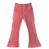 Flared broekje | Old pink