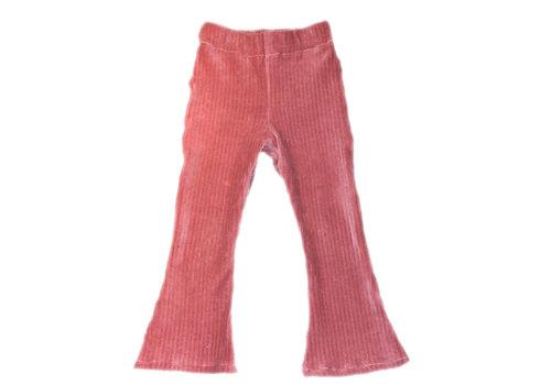 BrandLux Flared broekje | Old pink