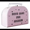 BrandLux Mini Koffertje | Popje gaat mee logeren