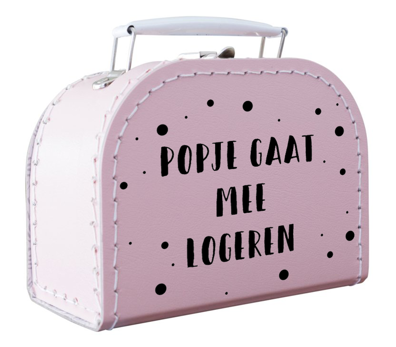 Mini Koffertje | Popje gaat mee logeren
