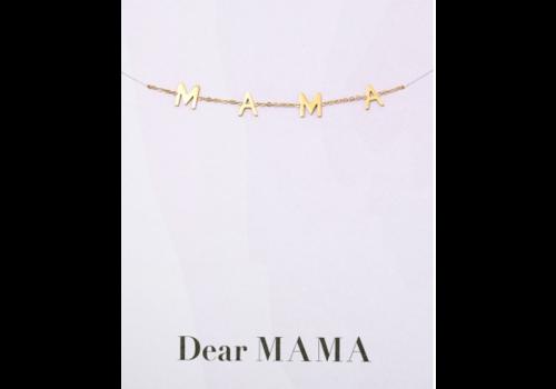 BrandLux Armband goud | MAMA