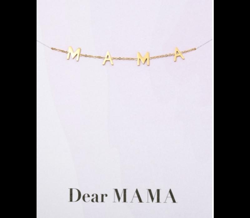 Armband goud | MAMA