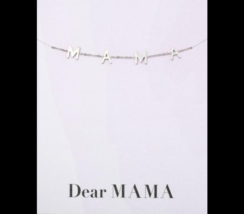 Armband zilver | MAMA