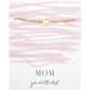 BrandLux Armband goud | Hartje mom