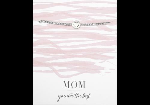 BrandLux Armband zilver | Hartje mom
