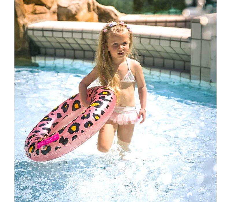 Rosé Gouden Panter Kinder Zwemband - 70 cm