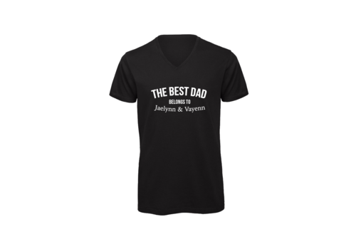 BrandLux Shirt man | The best dad belongs to...