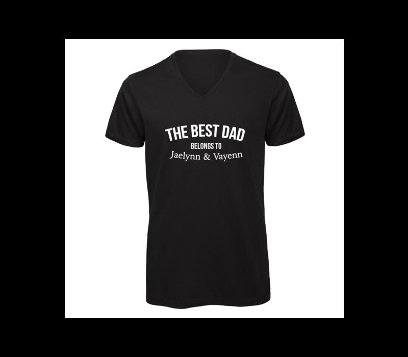 Shirt man | The best dad belongs to...