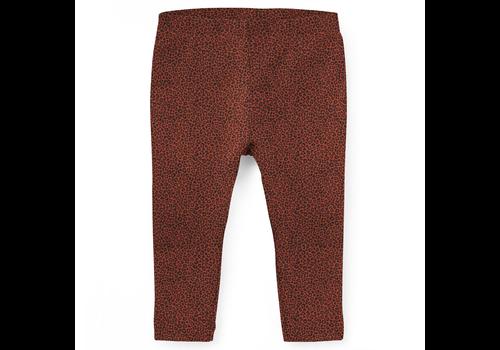 BrandLux Legging | Leopard terracotta