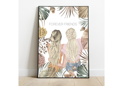 BrandLux Poster | Forever friends