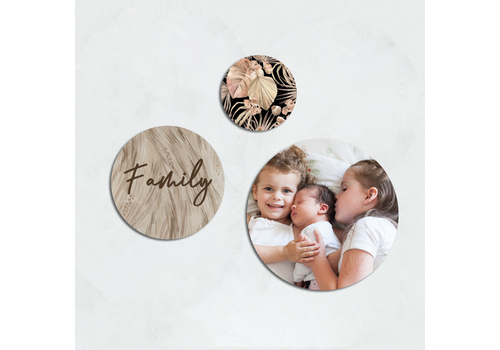 BrandLux Wall art | Cirkel set family