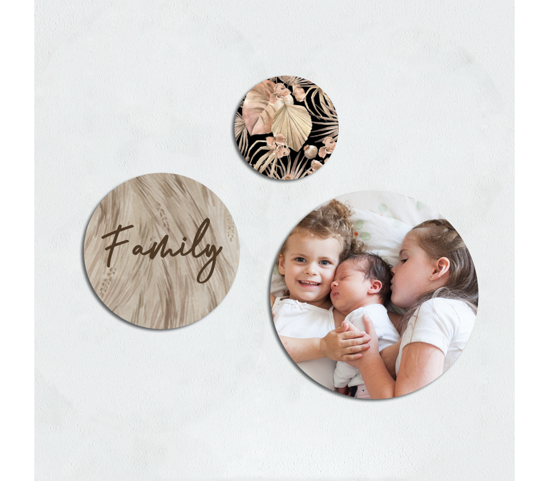 Wall art | Cirkel set family