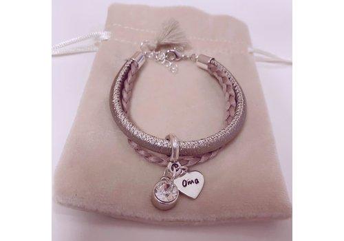 BrandLux Armband |Rose sparkle
