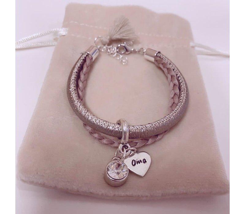 Armband |Rose sparkle