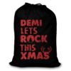 UMustHave Kerstzak | zwart met eigen naam lets rock this xmas