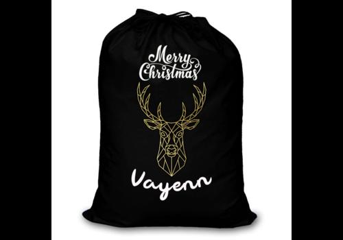 UMustHave Kerstzak | Merry Christmas zak met eigen naam