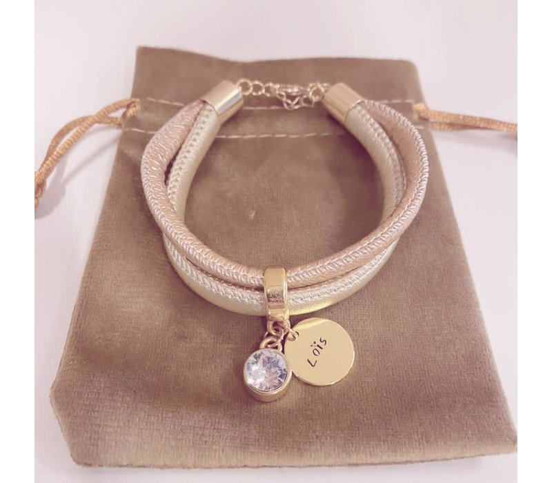 Armband | Gold goldie